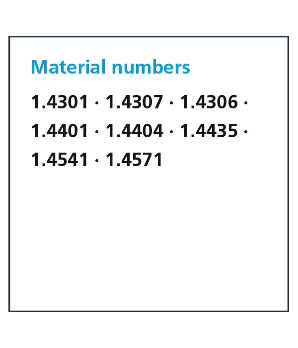 material numbers